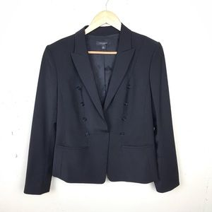 Ann Taylor Double Breasted Career Blazer Jacket 12